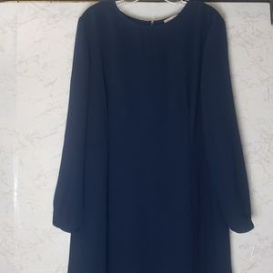 Ann Taylor Loft | Dress | Size 18 | Navy | NWT